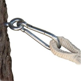 Byer of Maine Amazonas Silver Hammock Tree Straps Hook
