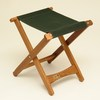 Byer of Maine Forest Green Keruing Folding Camping Chair