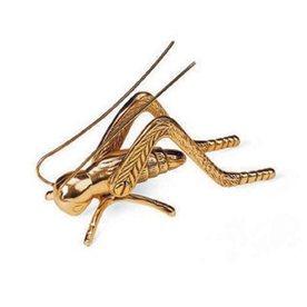 ACHLA Designs Brass Hearth Cricket Statue