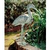 ACHLA Designs Stately Blue Heron 31.5-in Animal Garden Statue