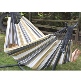 Vivere Desert Moon Fabric Hammock with Stand