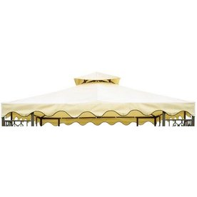 Shop d c america beige with beige trim polyester for Furniture of america replacement parts