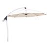D.C. America Beige Offset Patio Umbrella with Crank (Common: 120-in; Actual: 120-in)