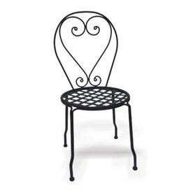Shop D C America Set of 4 Black Slat Seat Wrought Iron