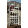 Dura-Trel 28-in W x 64-in H White Transitional Garden Trellis