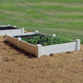 Dura-Trel 48-in L x 48-in W x 19-in H Raised Garden Bed