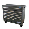 WEN 39-in x 41.5-in 12-Drawer Ball-Bearing Steel Tool Cabinet (Black)