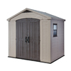 Keter Factor Gable Storage Shed (Common: 6-ft x 8-ft; Actual Interior Dimensions: 5-ft 4-in x 7-ft 9.9-in)