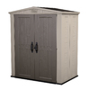 Keter Factor Gable Storage Shed (Common: 6-ft x 3-ft; Actual Interior Dimensions: 5-ft 3.9-in x 3-ft 3-in)