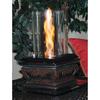 Outdoor Greatroom Company Serenity 16.5-in Black Fiberglass Fire Pot