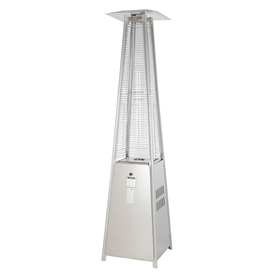 Fire Sense 40000 BTU Stainless Steel Floorstanding Liquid Propane Patio  Heater