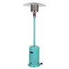 Fire Sense 46000-BTU Aqua Blue Liquid Propane Patio Heater