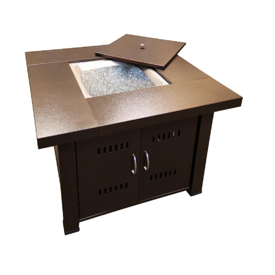 Shop AZ Patio 38-in W 35000-Btu Hammered Bronze Stainless ...