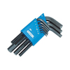 KD Tools 9-Piece Flat End Hex Key Set