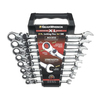 KD Tools 8-Piece Ratchet Wrench Set with Case