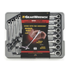 KD Tools 12-Piece Extra Long Ratchet Wrench Set with Case