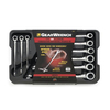 KD Tools 9-Piece Extra Long Ratchet Wrench Set with Case