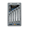 KD Tools 6-Piece Ratchet Wrench Set with Case