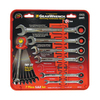 KD Tools 7-Piece Ratchet Wrench Set with Case