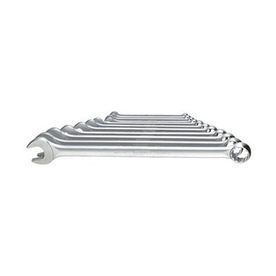 Gedore 11-Piece Polished Chrome Metric Wrench Set