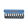 Gedore 9-Piece Metric 1/2-in Drive Socket Set with Case