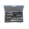 Gedore 50-Piece Metric Drive Socket Set with Case