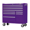 Viper Tool 42-in x 41-in 9-Drawer Ball-Bearing Steel Tool Cabinet (Purple)