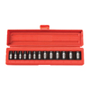 TEKTON 13-Piece 3/8-in Drive Metric 6-Point Impact Socket Set with Case