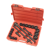 TEKTON 21-Piece 3/4-in Drive Standard 6-Point Impact Socket Set with Case