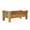 Gronomics 45-in x 19-in Rustic Red Cedar Cedar Rustic Raised Planter Box