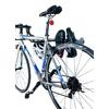 Monkey Bar 1-Bike Silver Steel Bike Rack