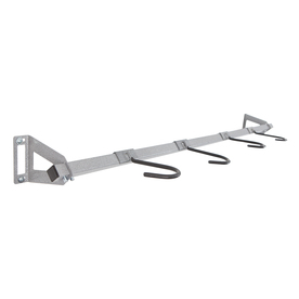 Monkey Bar 4-Bike Silver Steel Bike Rack