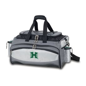 Picnic Time Hawaii Warriors 164-sq in Portable Gas Grill