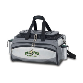Picnic Time Cal Poly Mustangs 164-sq in Portable Gas Grill