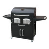 Landmann USA Bravo Premium 30-in Barrel Charcoal Grill