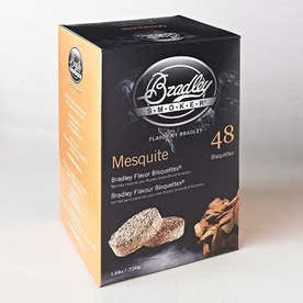 Bradley 1-Pack 1.6 Pound(s) Mesquite Wood Chips