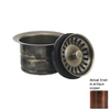 Whitehaus Collection 5-in Dia Copper Stopper Sink Strainer and Disposal Flange Combo