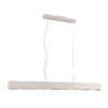 Philips Dolinea 1.1-in W Matte White LED Pendant Light with White Shade