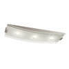 Philips Altena 7.9-in W Brushed Nickel LED Ceiling Flush Mount