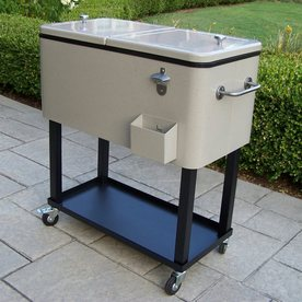 Oakland Living 80-Quart Steel Beverage Cooler
