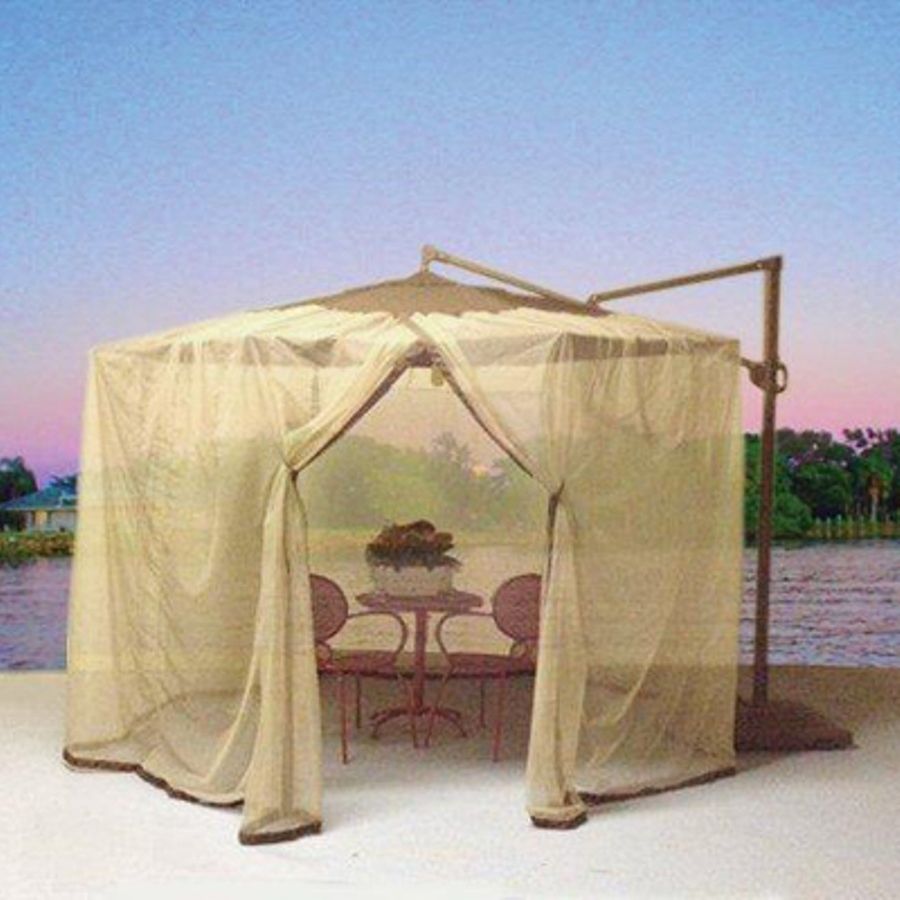 shop shade trends mosquito net for patio cantilever