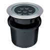 Eurofase Hydrofloor Maxi Stainless Steel Line Voltage 16-Watt LED Well Light