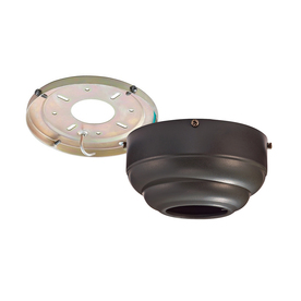 Monte Carlo Fan Company Dark Bronze Metal Angle Mount Capable Ceiling Fan Mounting Hardware
