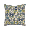 Pillow Perfect 18-in W x 18-in L Spa Square Indoor Decorative Complete Pillow
