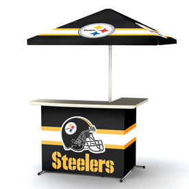 Shop Best Of Times Pittsburgh Steelers 63 In X 44 In L Shaped Bar At