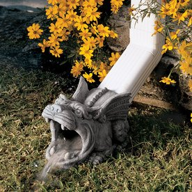 Shop Design Toscano 65 in Roland The Gargoyle Rain Gutter