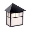 Acclaim Lighting Artisan 10.5-in H Matte Black Outdoor Wall Light