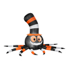 Gemmy 5.6-ft Internal Light Spider Halloween Inflatable