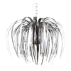 Galaxy Cascade 25.62-in W Polished Chrome Hardwired Standard Pendant Light with Mirrored Shade