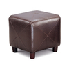 Coaster Fine Furniture Dark Brown Square Ottoman